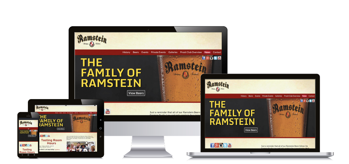 Ramstein Beer Website